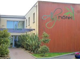 Brit Hotel Alghotel, Канкаль