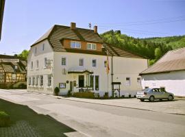 Landhotel Zur Wegelnburg, Schönau (рядом с городом Wingen)