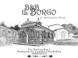 B&B Il Borgo di Antonello Flore, Abbasanta (Ghilarza yakınında)