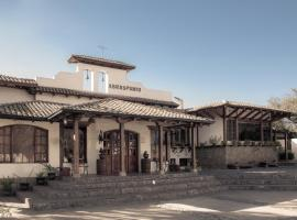 Hotel Hacienda Abraspungo, Riobamba (Guano yakınında)