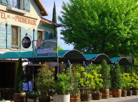 Hôtel Restaurant La Promenade, Гурдон
