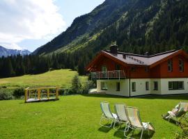 Appartementhaus Naturquell, Sankt Leonhard im Pitztal