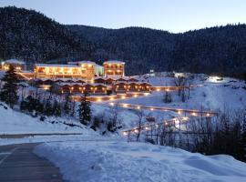 Ipsivaton Mountain Resort, Moúcha (рядом с городом Thrapsímion)