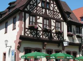 Hotel Restaurant Alte Brauerei, Karlstadt (Zellingen yakınında)