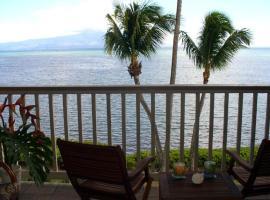 Wavecrest Resort Apt # A-303 on Molokai in Hawaii, Kaunakakai