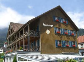Bildungszentrum Sunnahof, Oberschan (Azmoos yakınında)