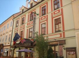 Hotel Barbarossa, Cheb