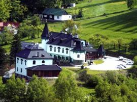 Hotel Zlatý Orel, Ostravice (Staré Hamry yakınında)