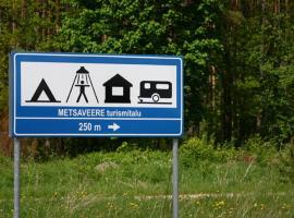 Homestay Metsaveere Turismitalu, Jürimõisa  (Loobu yakınında)