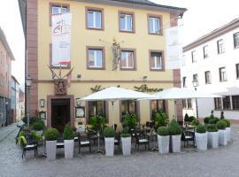 Land-gut Hotel zum Löwen Garni, Marktheidenfeld (Trennfeld yakınında)