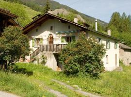 Maison aux Volets Verts, Liddes (Near Bourg-Saint-Pierre)