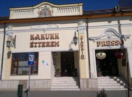 B&B Kakukk Étterem, Nyírbátor (рядом с городом Máriapócs)