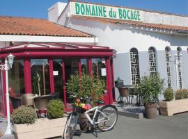 Domaine du Bocage, Chavagnes-en-Paillers (рядом с городом Chauché)