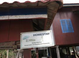 Isanborei Homestay 1, Kâmpóng Chheutéal