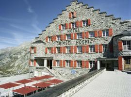 Historisches Alpinhotel Grimsel Hospiz, Grimsel Hospiz (Gletsch yakınında)