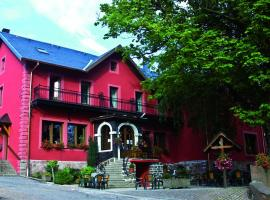 Hôtel Restaurant Le Velleda, Grandfontaine (рядом с городом Luvigny)