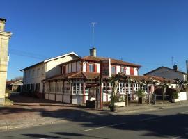 Hôtel Les Forges, Понтан-ле-Форж (рядом с городом Escource)
