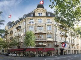 Small Luxury Hotel Ambassador Zurich