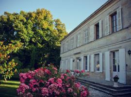 Domaine de Plisseau, Le Rigalet (рядом с городом Saint-Ciers-de-Canesse)