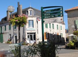 Hotel du Diamant, Mauprévoir (рядом с городом Joussé)