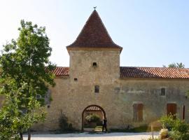 La Dame de Courties, Saint-Puy (рядом с городом Lamothe-Goas)