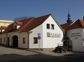 Penzion Lucerna, Pelhřimov (Lešov yakınında)