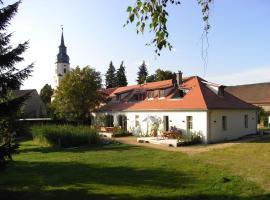 """Apartmenthotel Garni """"Gärtnerhaus Schloss Reinharz"""", Bad Schmiedeberg (Rotta yakınında)"""