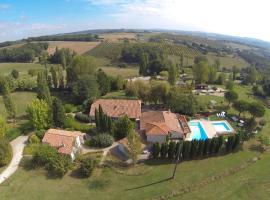 La Grange du Cheval Blanc, Villeneuve-sur-Lot (рядом с городом Castelnaud-de-Gratecambe)