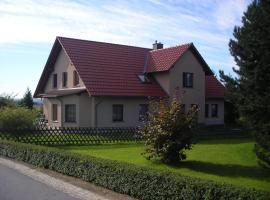 Ferienwohnung Gisela Kästner Stolpen, Stolpen (Lauterbach yakınında)