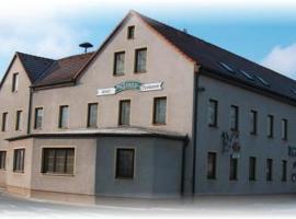 Hotel Kastanienhof, Threna (Fuchshain yakınında)