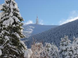 Chalet Ventoux Serein - Chambres d'hôtes, Mont Serein