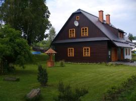 Sykorova Chalupa, Suchá Rudná (Andělská Hora yakınında)