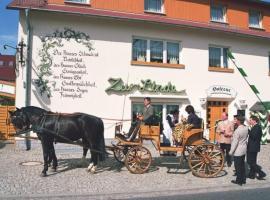 Familienhotel Zur Linde, Panschwitz-Kuckau (Burkau yakınında)