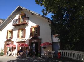 Gite Le Pelens, Saint-Martin-d'Entraunes (рядом с городом Énaux)