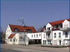 Hotel Garni Kreuzäcker, Ulm (Burlafingen yakınında)