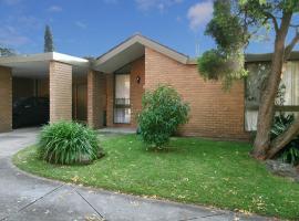 Wattle Holiday Rental, Melbourne (Kew yakınında)