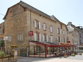 Hôtel Le Portalou, La Canourgue (рядом с городом Банассак)