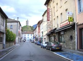 Hostellerie de la Poste, Тараскон-сюр-Арьеж (рядом с городом Banat)