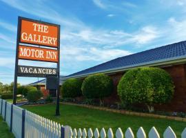 The Gallery Motor Inn, Dalby (Regiooni Bunya mountains lähedal)