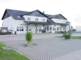 Hotel und Gasthaus Rammelburg-Blick, Friesdorf (Stangerode yakınında)