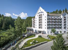 Hotel Schweizerhof Sils-Maria, Sils Maria (Fex yakınında)
