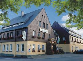 Hotel Berghof, Seiffen (Deutscheinsiedel yakınında)