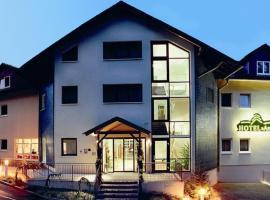 Hotel Am Wald, Elgersburg (Gehlberg yakınında)