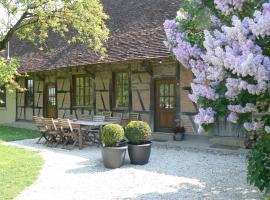 Chambres d'hôtes le Meflatot, Serley (рядом с городом Saint-Germain-du-Bois)