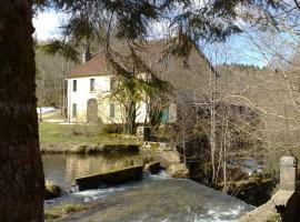 Au Moulin des Fées, Bonlieu (рядом с городом Ménétrux-en-Joux)