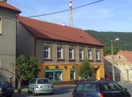 Ubytování na náměstí, Nedvědice (Moravecké Pavlovice yakınında)