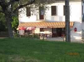 Hotel Le Commerce, Neuville (рядом с городом Saint-Hilaire-Taurieux)