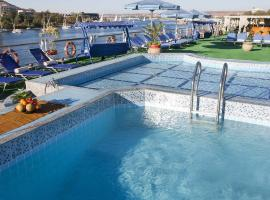 Radamis II Nile Cruise - Luxor/Aswan - 04 nights each Monday & 3 nights each Friday, Luksor (Al Marīs yakınında)