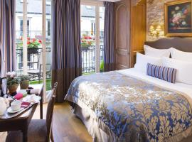 香榭麗舍大街及巴黎埃菲爾鐵塔-克萊貝爾酒店