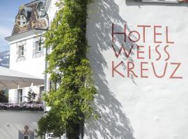 Hotel Weiss Kreuz Malans, Malans (Ober-Says yakınında)